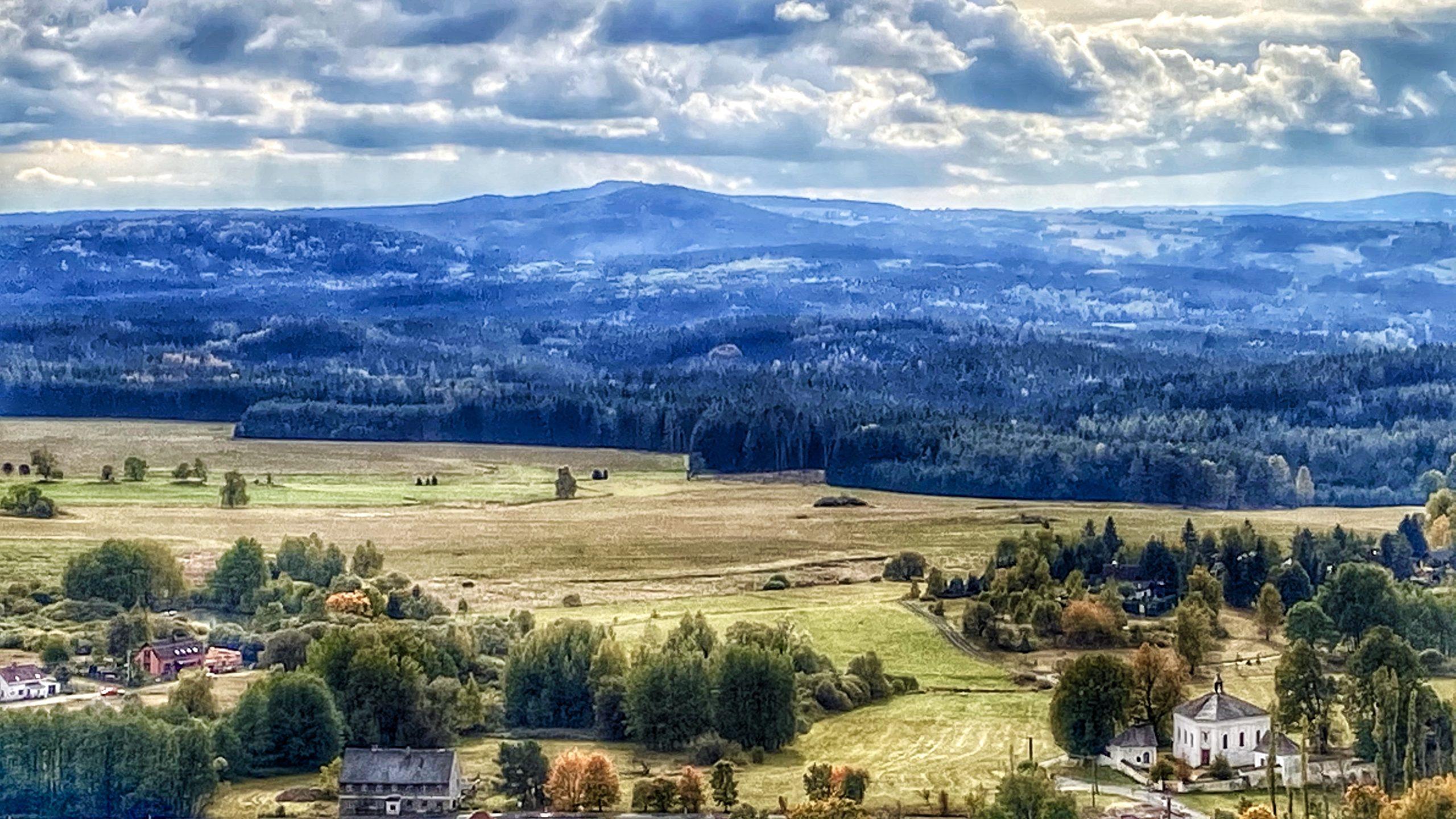Běh územím neobjevených krás Slavkovského lesa a Doupovských hor
