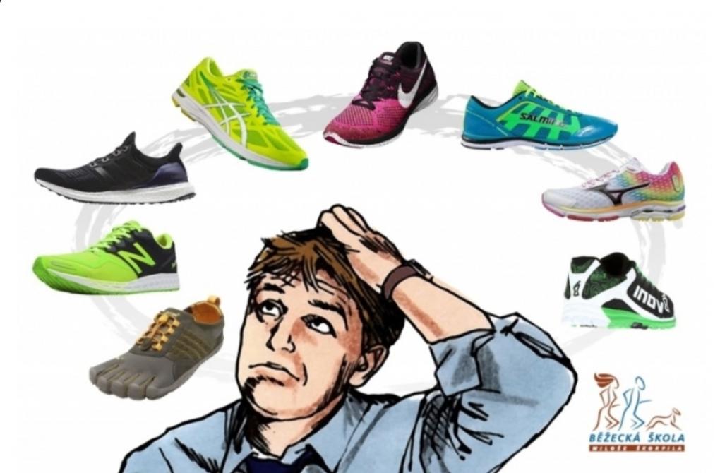 Co byste měli udělat při koupi běžeckých bot