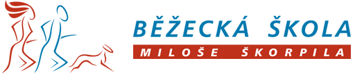 Běžecká škola Miloše Škorpila logotyp