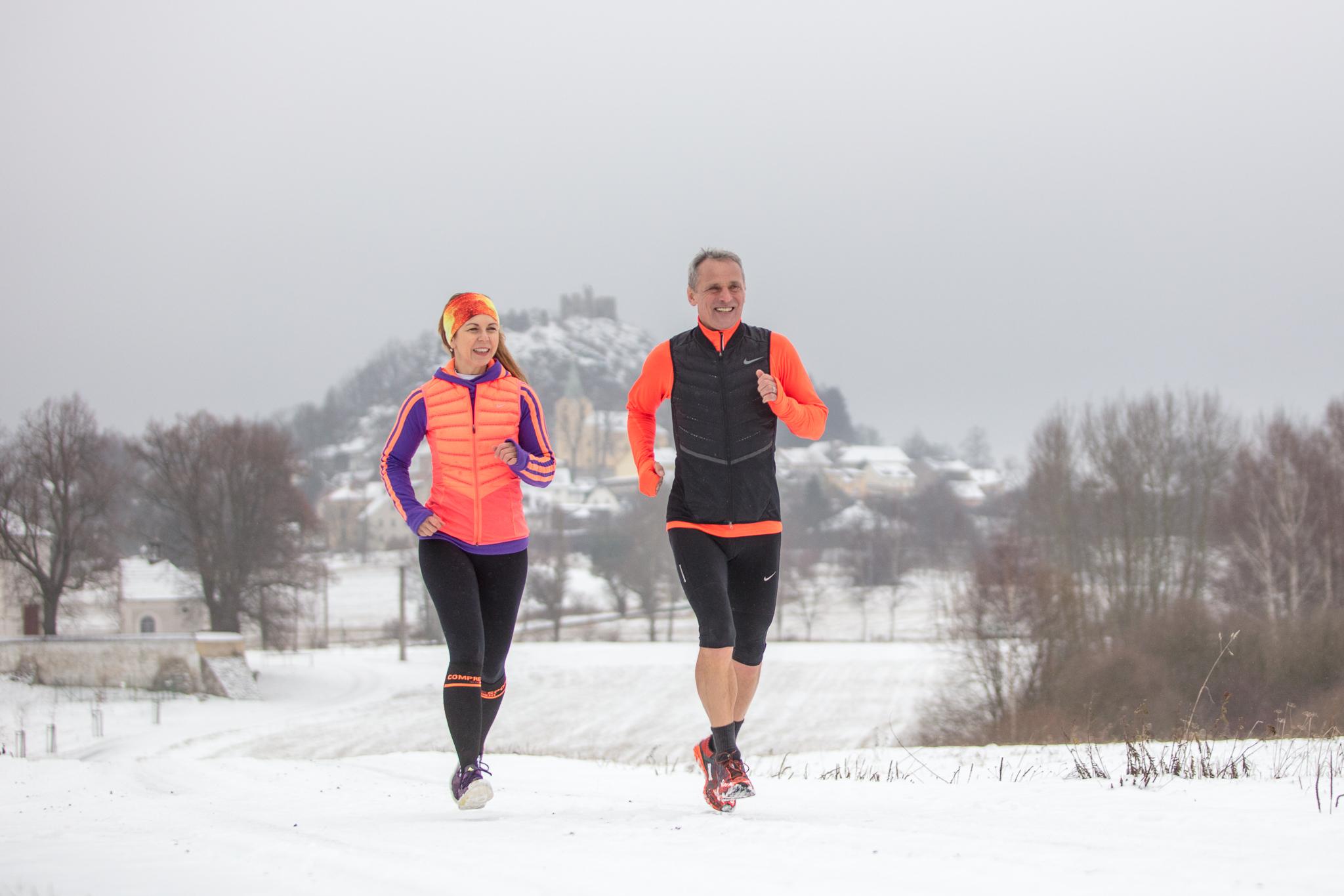 Žhavé tipy na běhání v chladných a zimních dnech