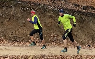 Běhání do kopce a z kopce, nenásilné formy k nabrání síly, rychlosti a koordinace pohybu
