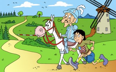 Forrest Gump s Donem Quijotem se přetahují v každém z nás