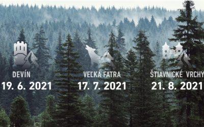 Nebuď z toho jelen, Behaj lesmi! Rozběhni s populárním seriálem nejkrásnější místa slovenské přírody