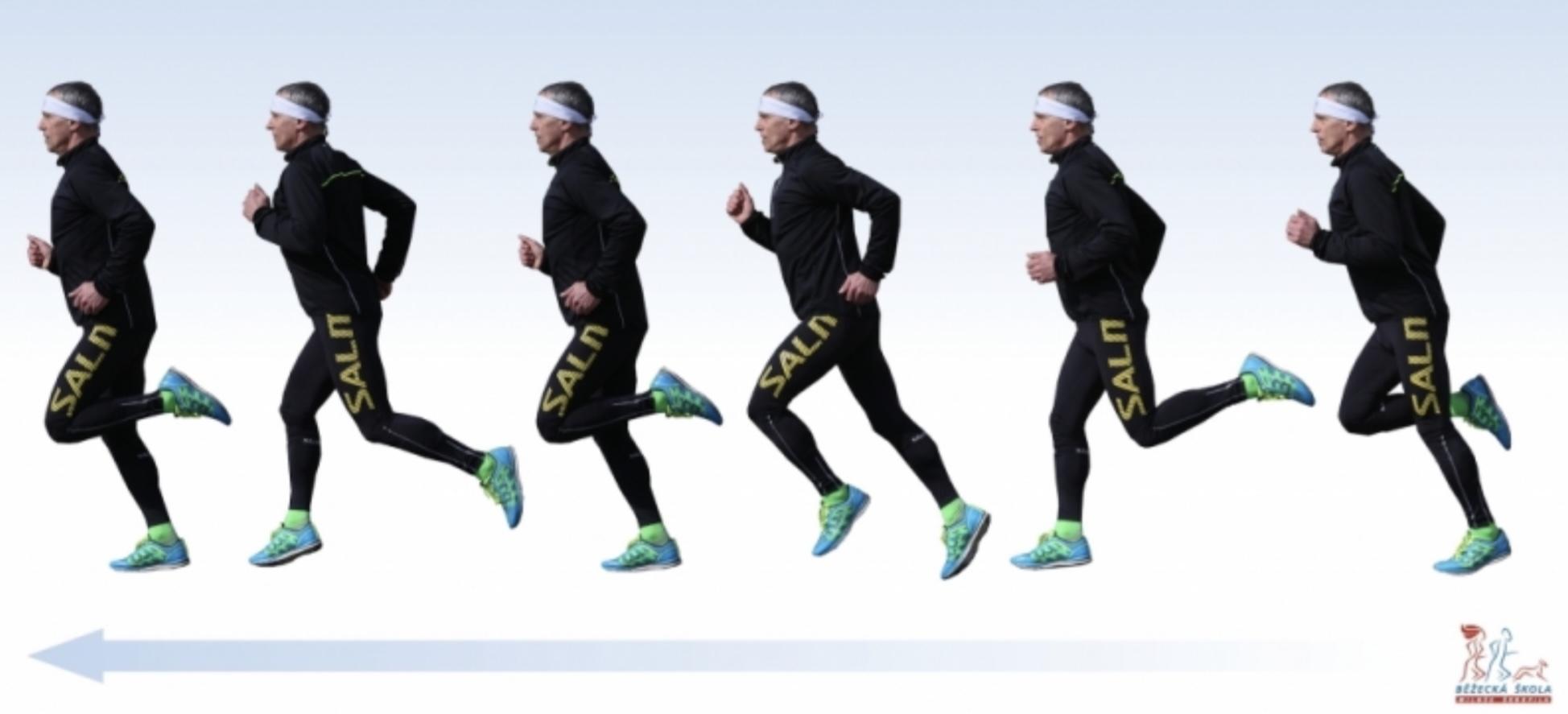 Přirozený běžecký styl se dokáže naučit každý