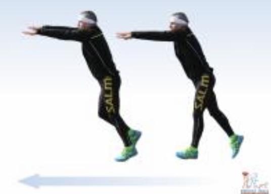 Přirozený běžecký styl se dokáže naučit každý ruce vedou