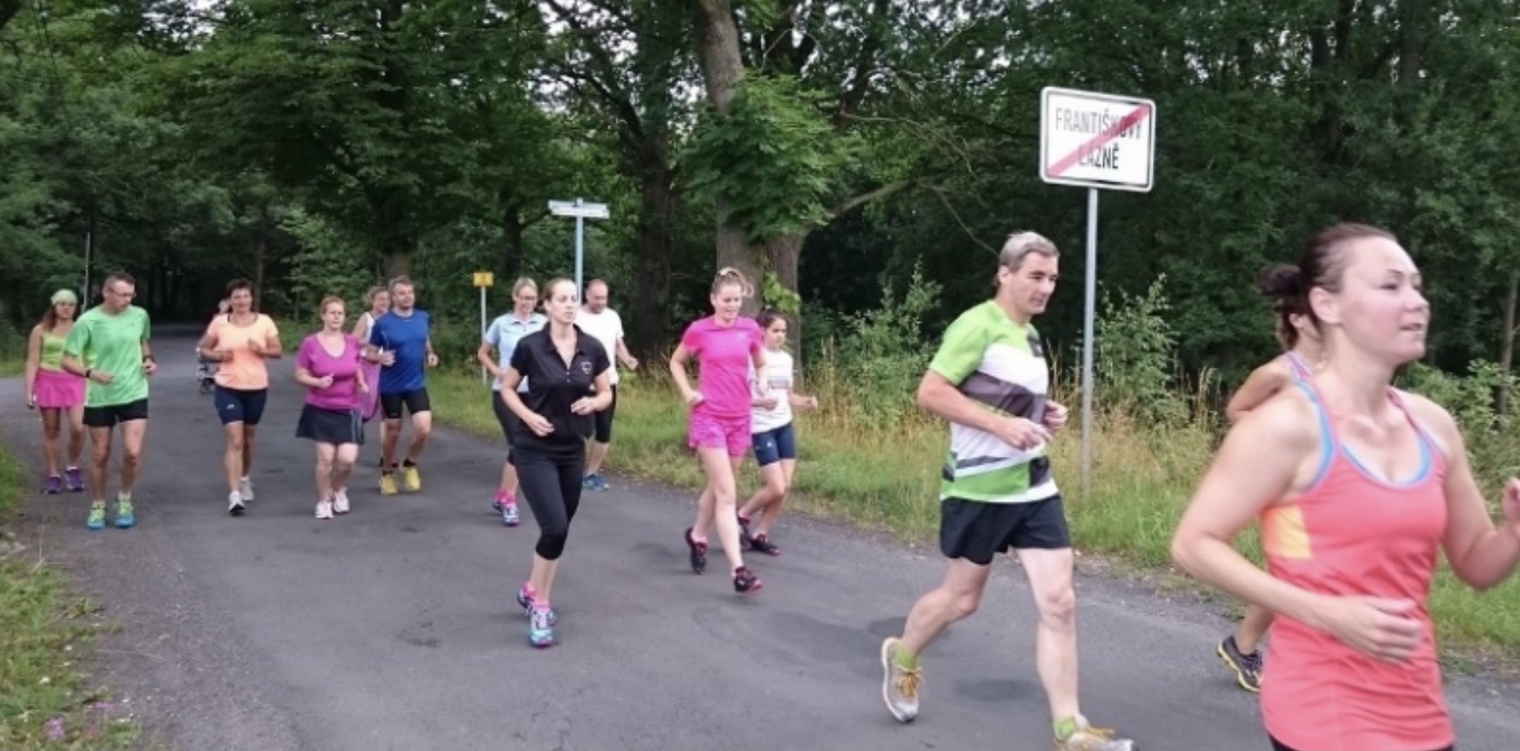 Tempa pro dané výsledné časy na maraton