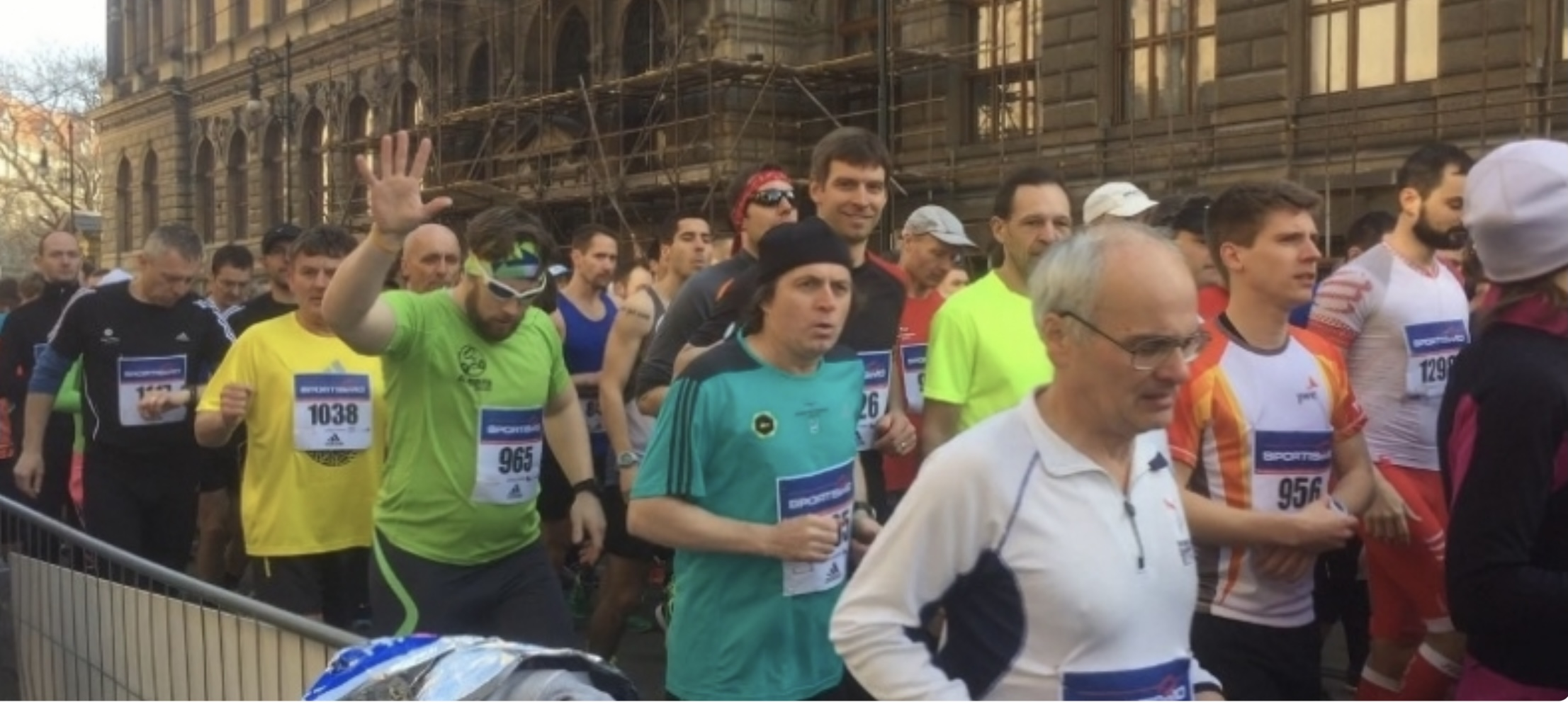 Půlmaraton, den a týden po závodě