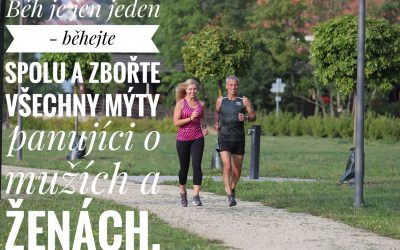 Co se traduje o běhání mužů a žen a jak je tomu doopravdy