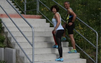 Schází ti kopce, běhej a cvič na schodech