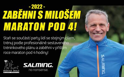 Maraton pod 4 s Milošem a Salmingem již po sedmé