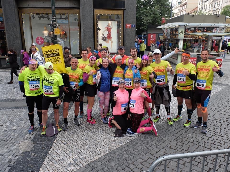 Maraton se běží za čtyři dny, nalaďte se do pohody