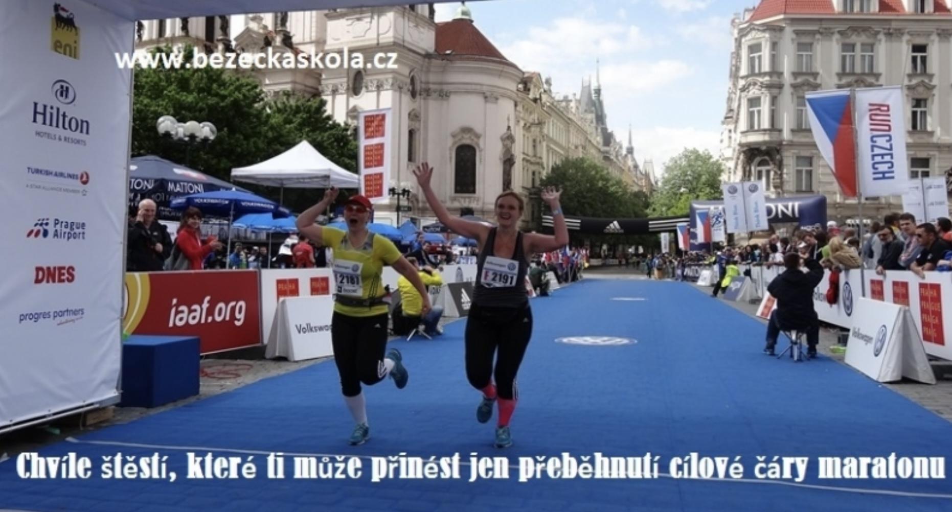 Maraton se běží za dva dny, je třeba se na něj pořádně vyspat