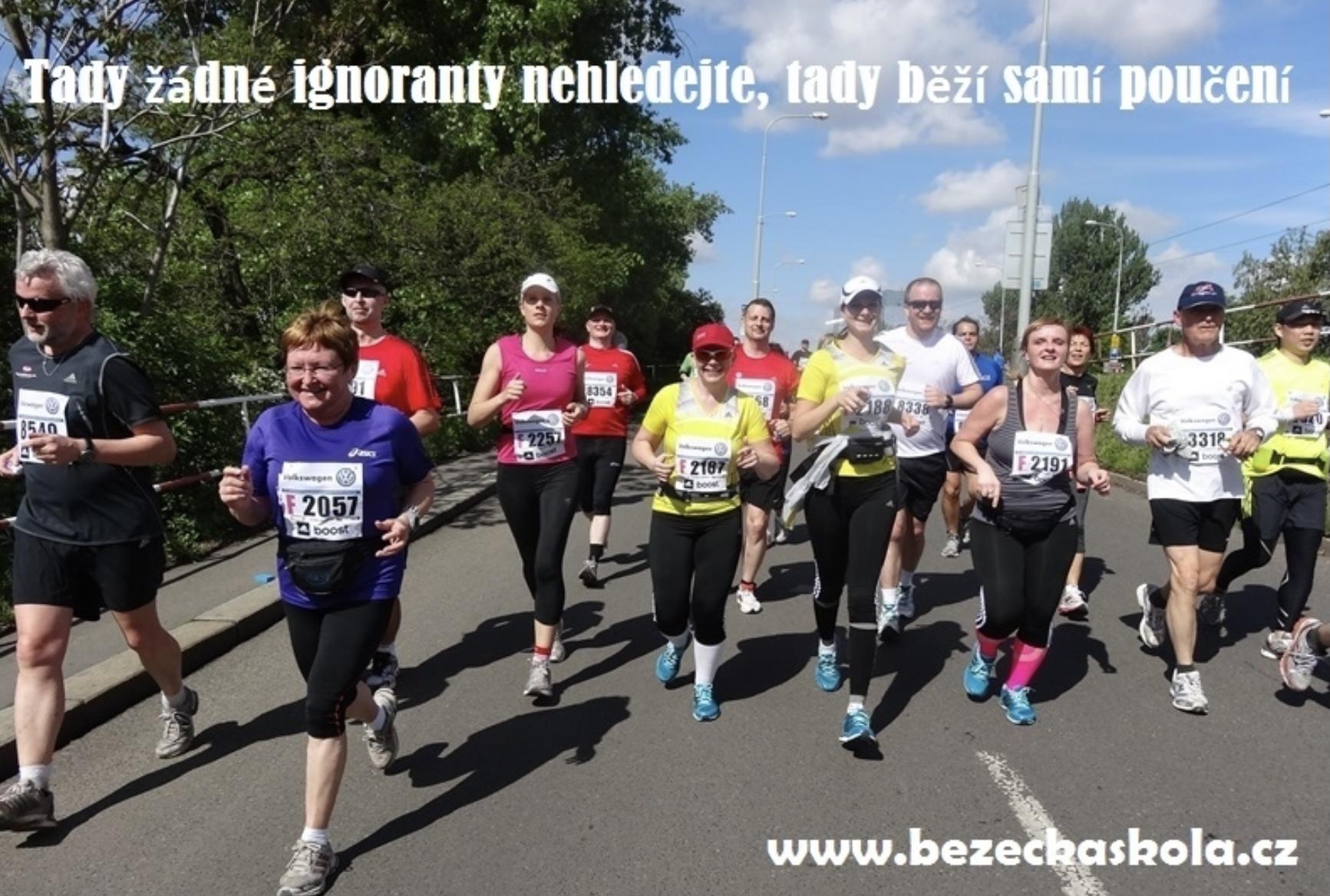 Maraton se běží za pět dní. Rady pro notorické ignoranty